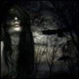 Espanto en el bosque imagen terrorífica