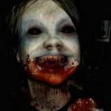 Niña vampiro real imagen terrorífica