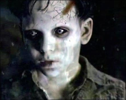 Niño demonio Galería de Imagenes de Terror