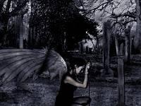 Ángel Oscuro Galería de Imagenes de Terror