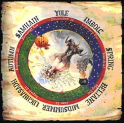 Medallón Wicca