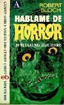 Háblame de Horror-Colección de Cuentos de Terror